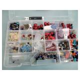 Craft beads, container