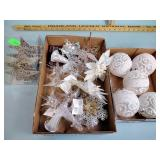 Ornaments, battery operated tealights, plush