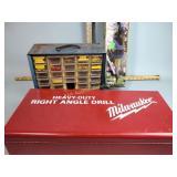 Milwaukee drill box only, telescoping turbine