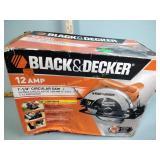 "Black & Decker 12amp 7.25"" Circular Saw"