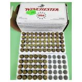 Winchester 40 S&W 165 gr. full metal jacket ammo