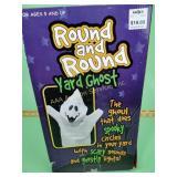 Yard ghost Halloween decor