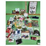 Glitter, sequins, craft supplies