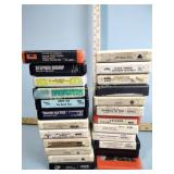 8 track tapes incl. Chicago, Donna