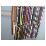CDs including Red Hot Chili Peppers, Céline Dion,