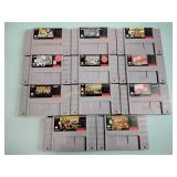 Nintendo games incl. Pinball,
