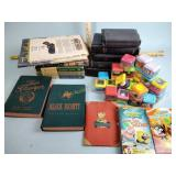 Assortment of Bibles and other books incl.