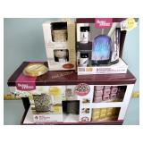 4 Wax warmer gift sets, aroma diffuser and a