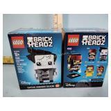 Lego Brickheadz two boxes, Jack Sparrow