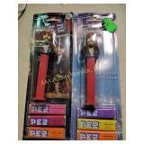 Two Pirates of the Caribbean Pez dispensers