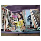 Tub of magazines incl. Star, Vanity