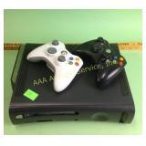 XBox 360 console untested (wear), controls