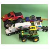 Toy trucks & tractor: Buddy L Workhorse Big