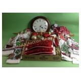 Christmas themed kitchen towels, Christmas