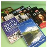 Life magazines, books incl. Ronald Reagan