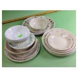 Corning Ware dishes & bowls