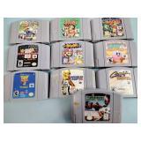 Nintendo games incl. Mario Kart,