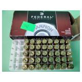 Federal 40 S&W 180 grain FMJ FN centerfire pistol