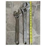 12-in And 15-in Crescent Wrenches