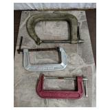 C Clamps Set of 3