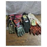 14 Pair If Assorted Work Gloves