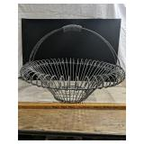 "23"" Wide 17"" Tall Wire Basket"