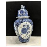 Royal Sphinx Made in Holland Cobalt blue 15""