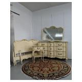 Vintage five-piece set bedroom suite Two twin