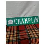 Walker road sign Champlin 2