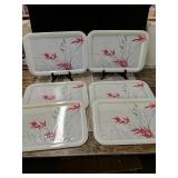 "Vintage trays set of 6 12""x17.5"