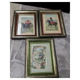 1910 Framed post cards
