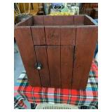 "Primitive cupboard 14 1/2 "" deep 20"""