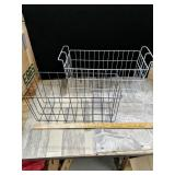 "To wire baskets 18""Long  Approximately 8""Tall"
