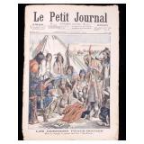 Le Petit Journal Death of Chief Joseph circa 1904