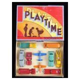 RARE Tootsietoy No. 8000 Playtime Diecast Set