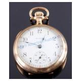 Elgin 15 Jewel 14K Gold Filled Pocket Watch