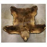 Trophy Alaskan Kodiak Grizzly Bear Rug LARGE