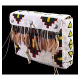 Sioux Fully Beaded Saddle Bag Early-Mid 20th C.