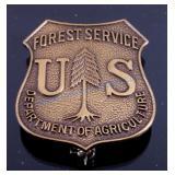 U.S. Forest Service Bronze Badge