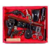 Montana Police Officer Colt Revolver & Accessories
