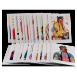 Winold Reiss Blackfeet Indian Print Collection