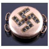 WWII Era Nazi Gold Filled Pill Box Locket