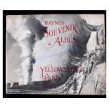 1909 Haynes Souvenir Album of Yellowstone Park