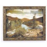 Original Schlechten Photograph Of Gallatin River
