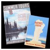 Haynes Yellowstone & Union Pacific Guide Books