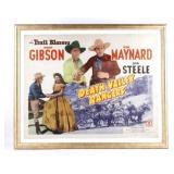 Original Death Valley Rangers Movie Poster
