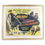 Original The Cowboys And The Indians Movie Poster