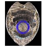 North Bay Village Commissioner N.Y. Police Badge