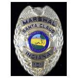 Santa Clause, Indiana Marshal Police Badge