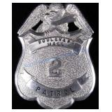 Boulevard Mall Patrol Law Enforcement Badge